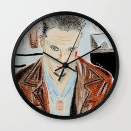 Brad Pitt-Tyler Durden Wall Clock