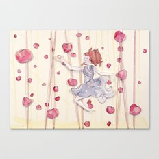 Floating: Apples Canvas Print