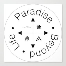 Life Compass Canvas Print