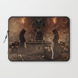 The Lord of Death Laptop Sleeve