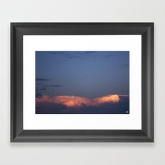 New Mexico Sunset (July 2014) Framed Art Print