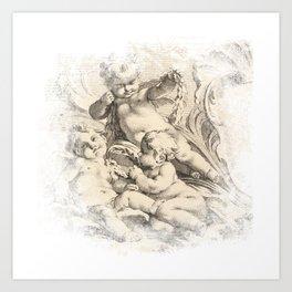 Cherub Dreams No.002 Art Print