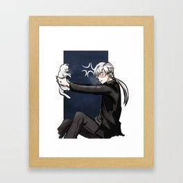 Mystic Messenger - Zen (Elizabeth 3rd series) Framed Art Print