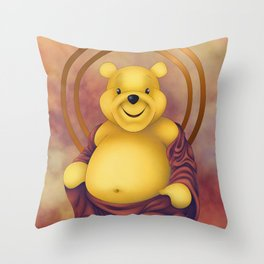 Poodah Throw Pillow