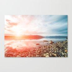 Sunset Landscape #photography Canvas Print