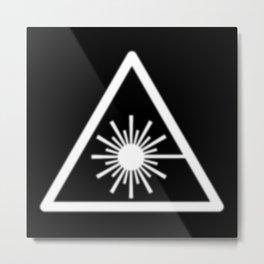 Protagonist/Antagonist - WHMIS Laser_K Metal Print