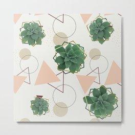 Lovely Succulents #redbubble #decor #buyart Metal Print