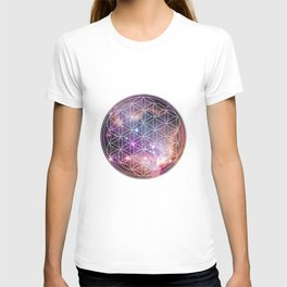 Flower of Life Sacred Geometry T-shirt
