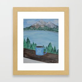 Camp 1. Framed Art Print