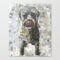 ginger Canvas Prints featuring Ginger by Maritza Hernandez
