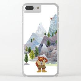 Bear troop Clear iPhone Case