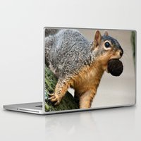 mouth Laptop & iPad Skins featuring Mouth Full! by IowaShots