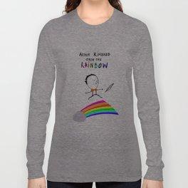 ARTHUR RIMBAUD OVER THE RAINBOW Long Sleeve T-shirt