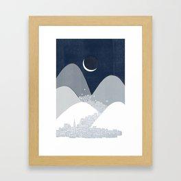 Bleak Midwinter Framed Art Print