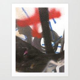 Philly.Graffiti.21 Art Print