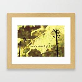 Last Chance Angel Framed Art Print