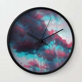 Rainy Sky Wall Clock