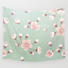 Cherry blossom,sakura,spring flower,Japanese cherry flower Wall Tapestry