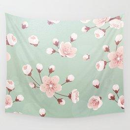 Cherry blossom,sakura,spring flower,Japanese cherry flower Wall Tapestry