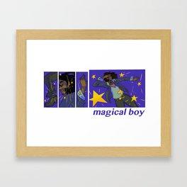 magical boy Framed Art Print
