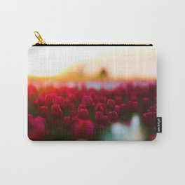 Spring Tulip Fields Carry-All Pouch