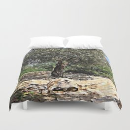 Tree of Geometry Duvet Cover