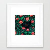 folk Framed Art Prints featuring Folk by Plantus Marina
