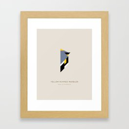 Yellow-Dumped Warbler Framed Art Print