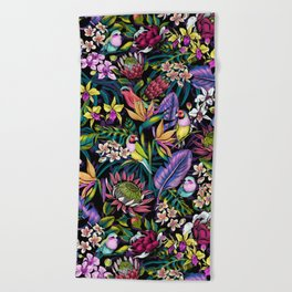Stand Out! (midnight) Beach Towel