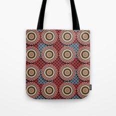 Elegance Emblems Pattern Tote Bag