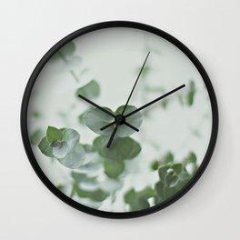 EUCALYPTUS GREEN 2 Wall Clock