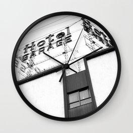 Hotel Garage Wall Clock