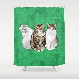 Maggie, Leia, and Clara Shower Curtain