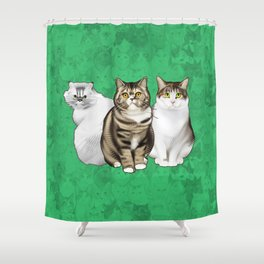 Maggie, Leia, and Clara Shower Curtain