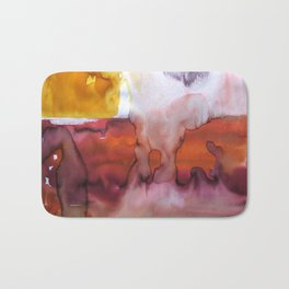 Landscape with Argonauts - Abstract 0032 Bath Mat