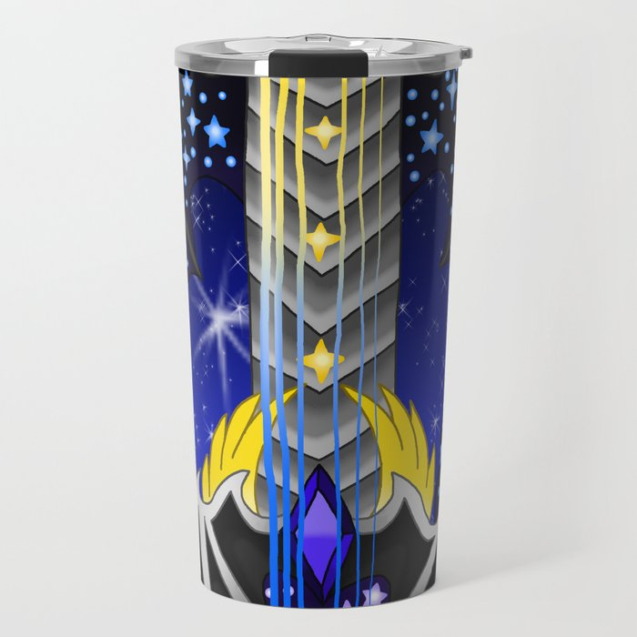 Fusion Keyblade Guitar #158 - Oblivion & Star Seeker 2 Travel Mug
