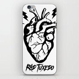 Electric Heart iPhone Skin