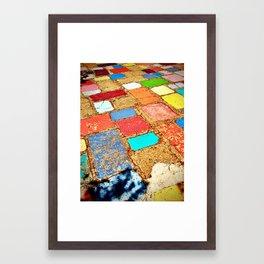 Balboa Park tile 2 Framed Art Print
