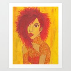 Fire Style Art Print