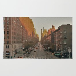 The Yellow Muted City (Color) Rug