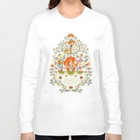 alice in wonderland Long Sleeve T-shirts featuring Wonderland by rosekipik