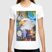 eagle T-shirts featuring Eagle by John Turck