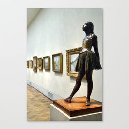 Philadelphia Dancer  Canvas Print