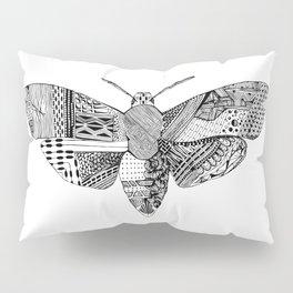 Death Head Moth Pillow Sham