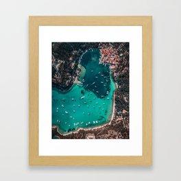 Town of Lakka, Greece Framed Art Print