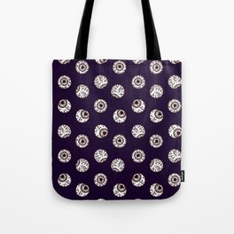 the big brother watches. eye pattern Tote Bag