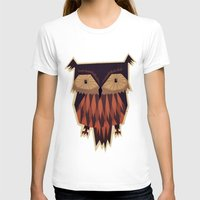 owl T-shirts featuring Owl by Yetiland