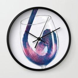 Cosmic Viscosity Wall Clock