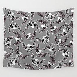 Shynx Half Skull Pattern Wall Tapestry