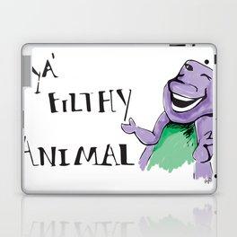 Barney Ya' Filthy Animal  Laptop & iPad Skin